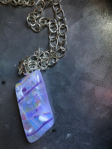Lilac Whispers - Pendant