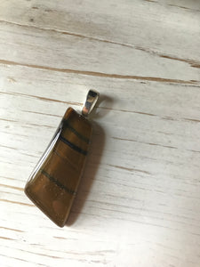 Caramelized Zebra- Pendant