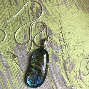 Blue Fire- Pendant