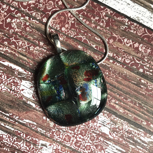 Speckled Turtle- Pendant
