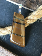 Load image into Gallery viewer, Caramelized Zebra- Pendant