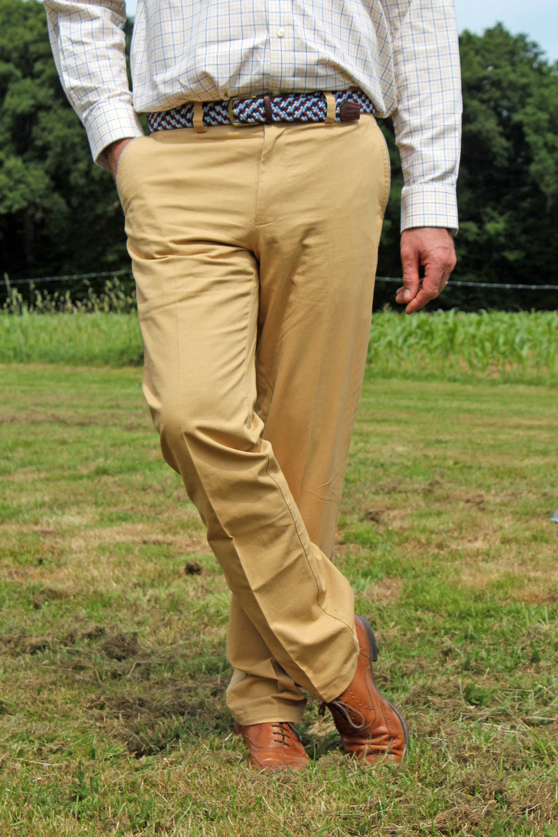 Pantalon Chino Homme Jaune Sable