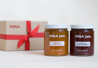 GIFT: 2 jars of jam (choose your flavors)