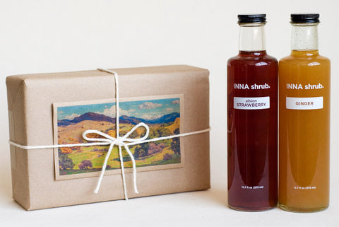 GIFT: 2 bottles of 375ml shrub