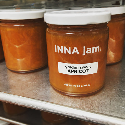 golden sweet APRICOT jam