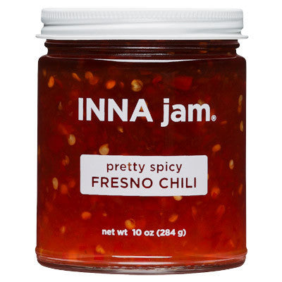 pretty spicy FRESNO CHILI jam