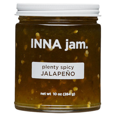 plenty spicy JALAPEÑO jam