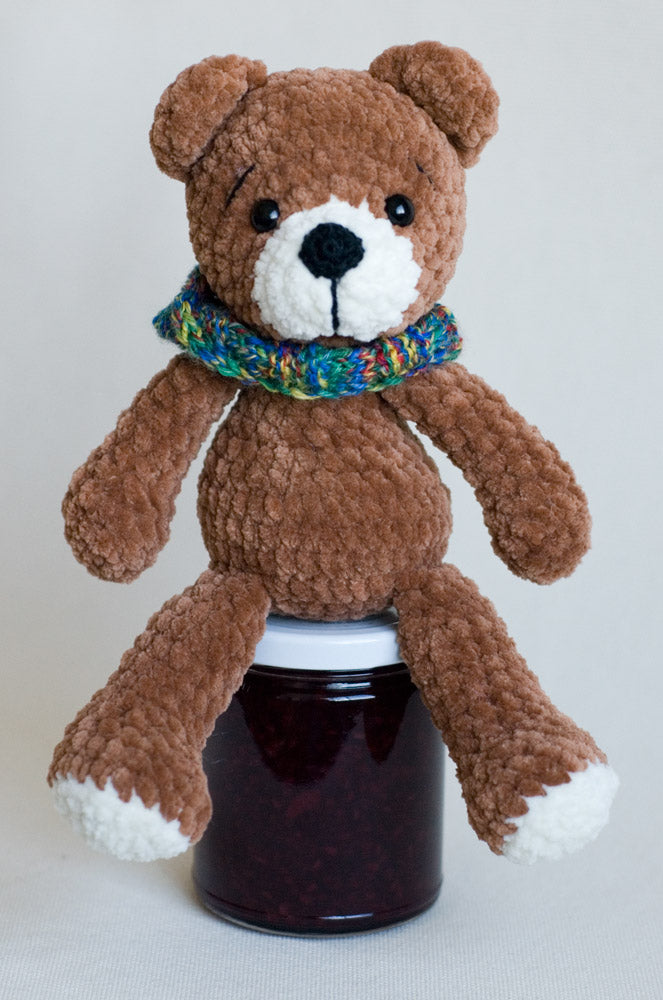 "toy BEAR (9""): brown"