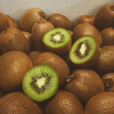"Did you know that the kiwi was originally called the Chinese gooseberry? Native to Southern China, cultivation spread to New Zealand early in the 20th century. By mid-century it was grown commercially for export and renamed by enterprising New Zealanders as ""kiwifruit."" This species is called Actinidia deliciosa, which roughly translates to ""hardy and delicious."" I couldn't agree more."