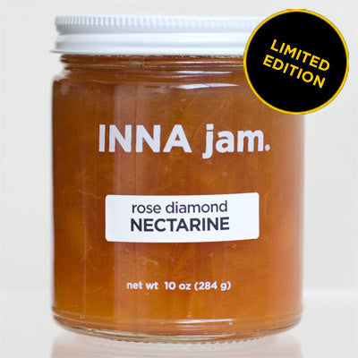 rose diamond NECTARINE jam