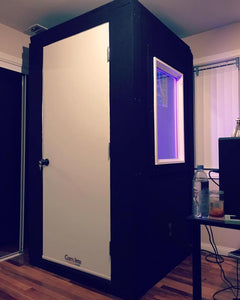 "4x3x7'5"" Isolation Booth"