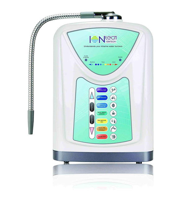 new alkaline water ionizer machine with filter iontech it 580 by intelgadgets powerful - Water Ionizer Machine