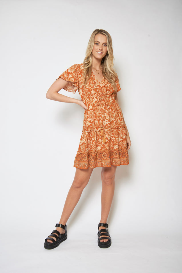 Adore Dress - BROWN