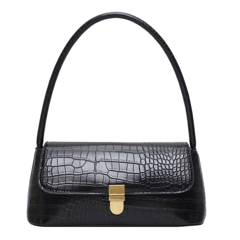 Tahlia Bag - BLACK CROC