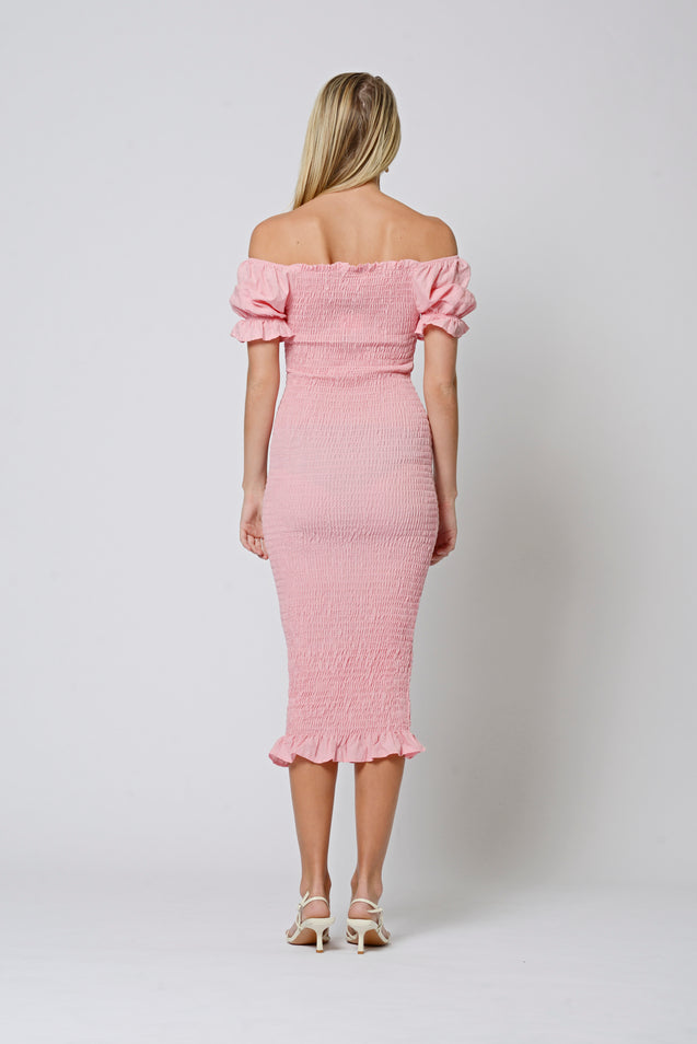 Sweetheart Dress - BLUSH