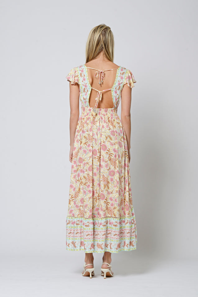 Palomino Dress - CORNSILK
