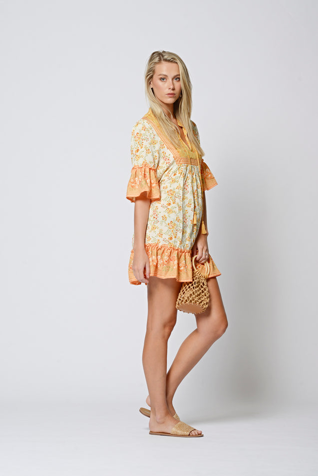 Giselle Dress - YELLOW