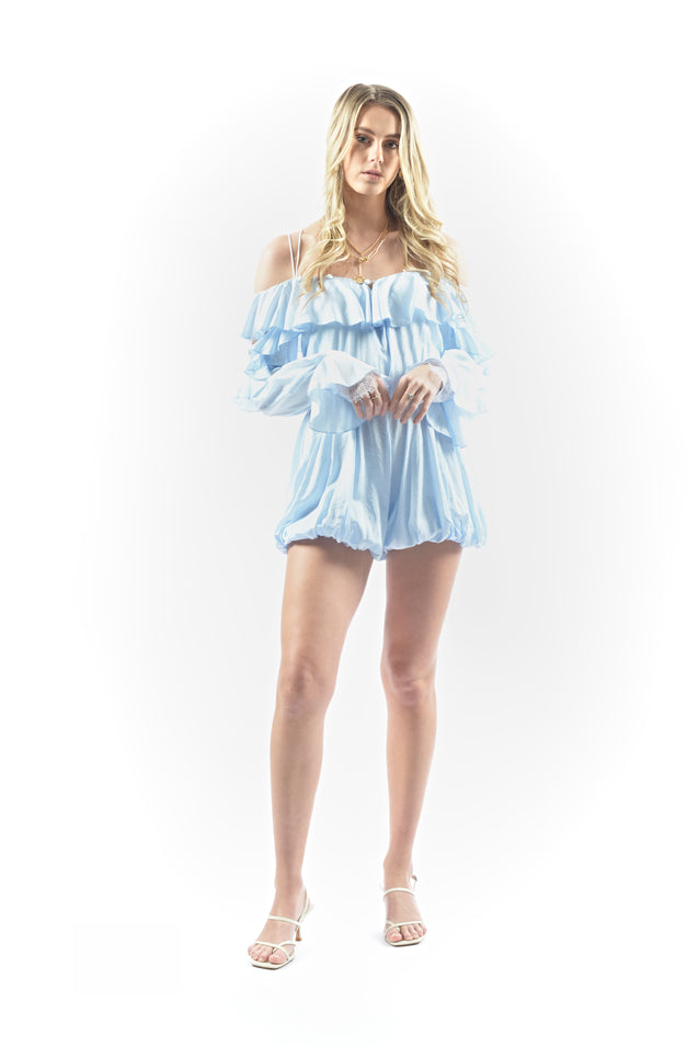 The Milky Way Romper - BLUE