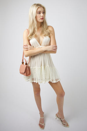 Sunday Straps Dress - CREAM
