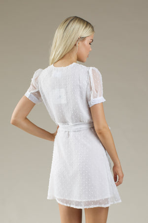 Crystal Dress - WHITE