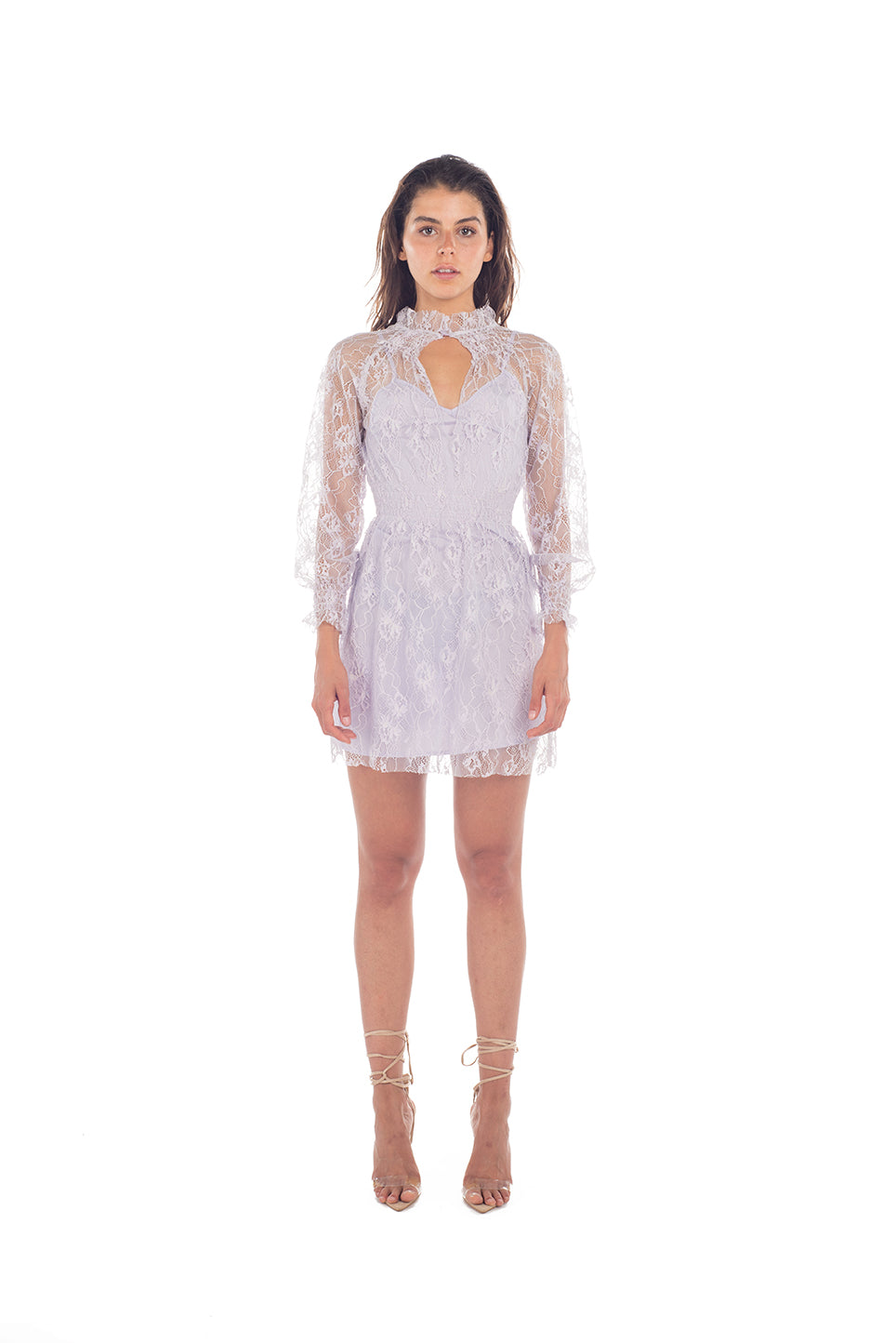 Lacy Dress - LAVENDER