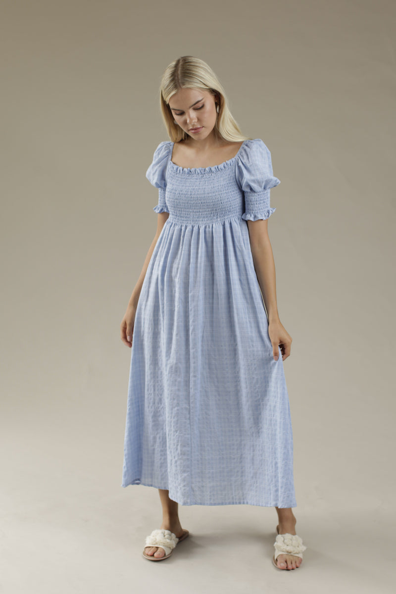 Flow Maxi Dress - BLUE
