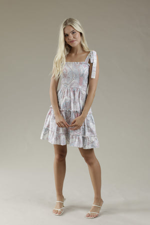 Day Dreamer Short Dress - BLISH PARSLEY
