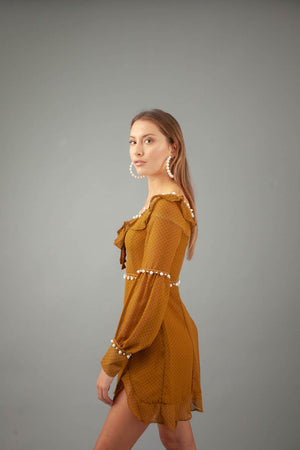 Darling Darl Dress - TURMERIC