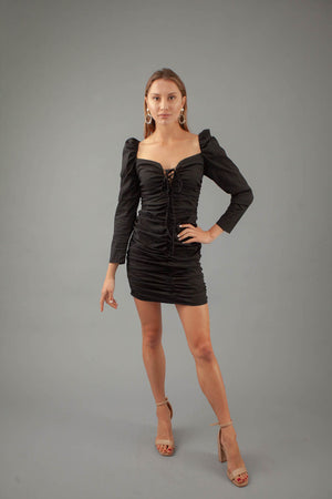 Love Is A Doll Dress - BLACK