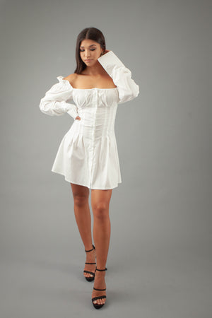 Heavenly Dress - WHITE - preorder
