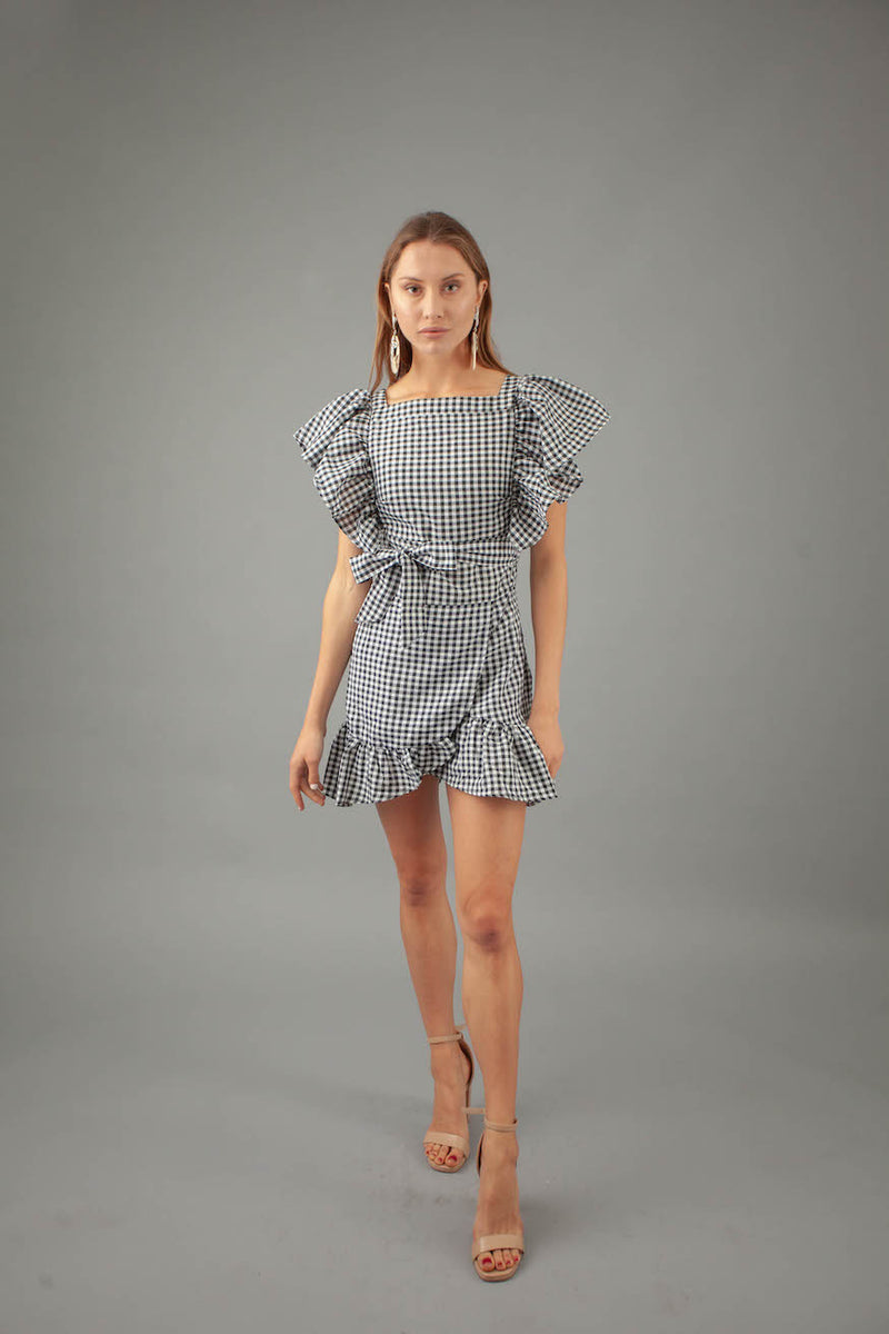 Bella Dress - GINGHAM