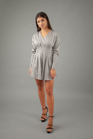 Dolly Dress - GREY
