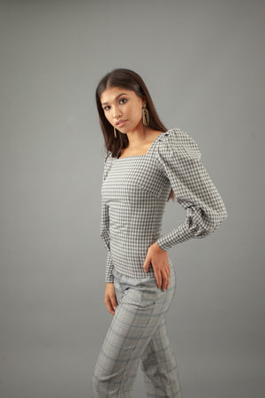 Luna Top - GINGHAM