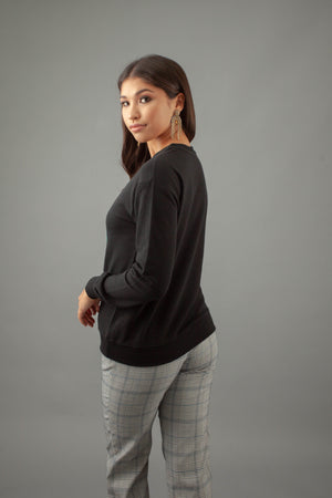Guardian Sweater - BLACK