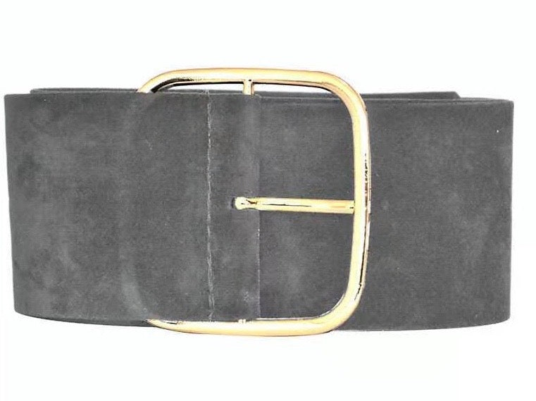 Tiara Suede Belt - GREY