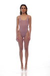 Stargirl Bodysuit - DUSTY ROSE