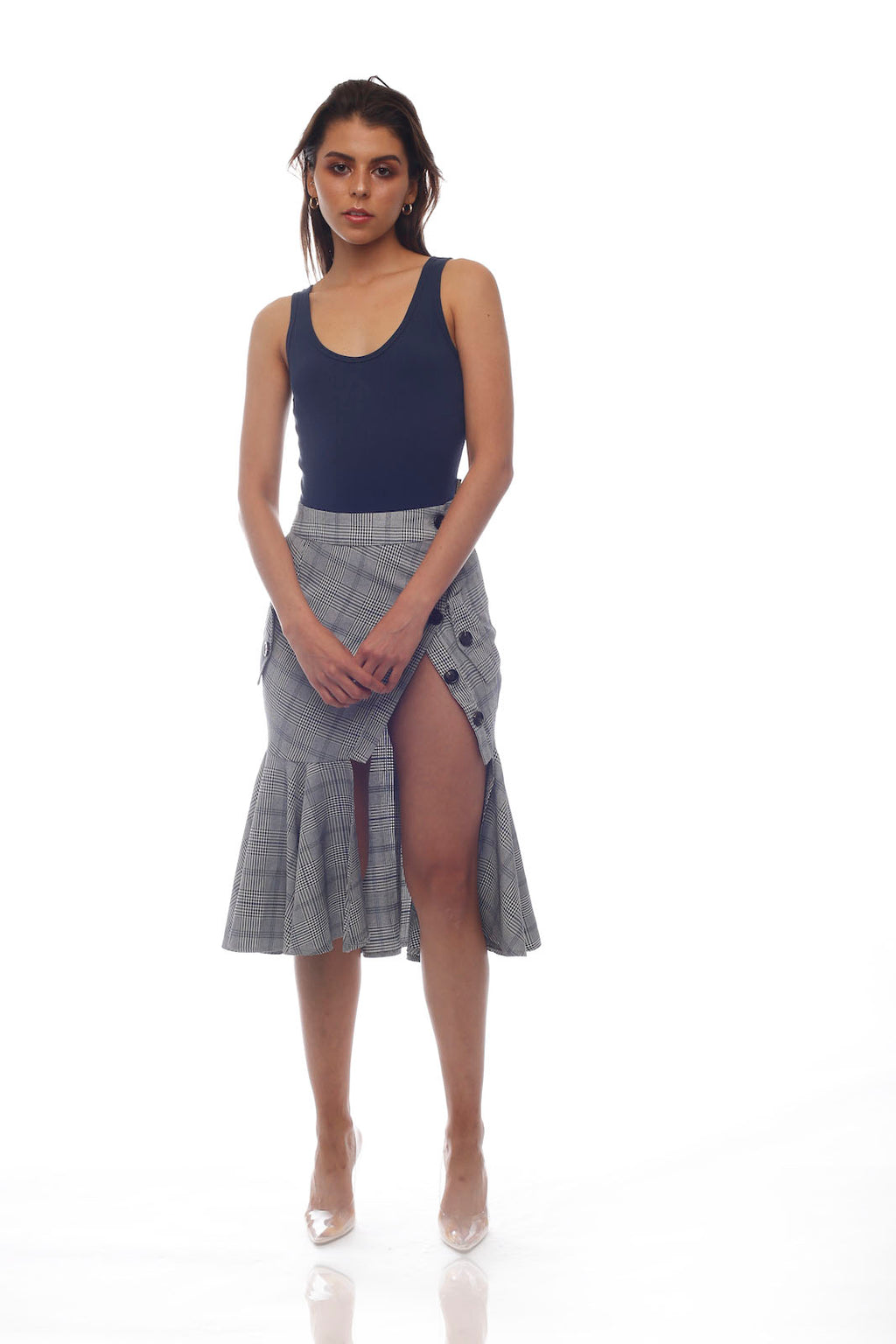 Stellar Skirt - BLUE GREY