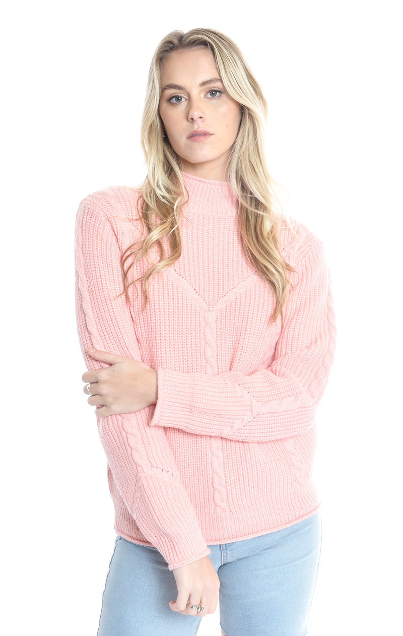 Positano Top - BLUSH