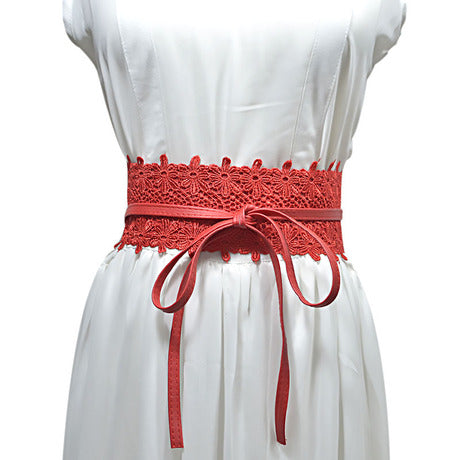 Lilian Wrap Belt - RED