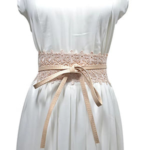 Lilian Wrap Belt - PEACH
