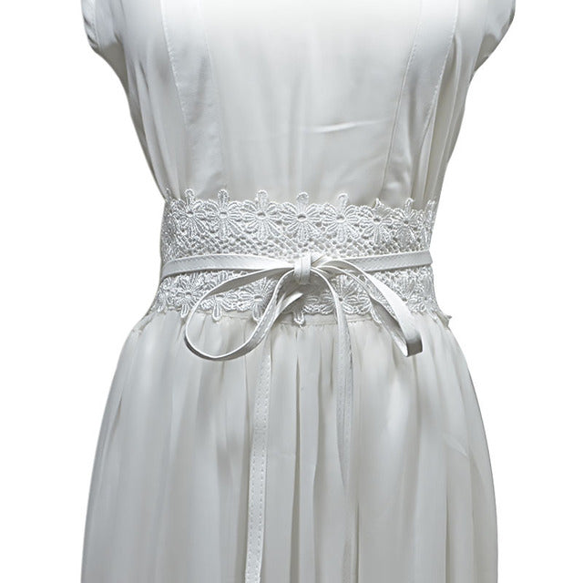 Lilian Wrap Belt - WHITE