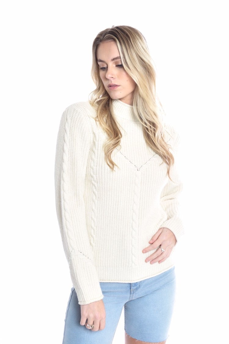 Positano Top - CREAM