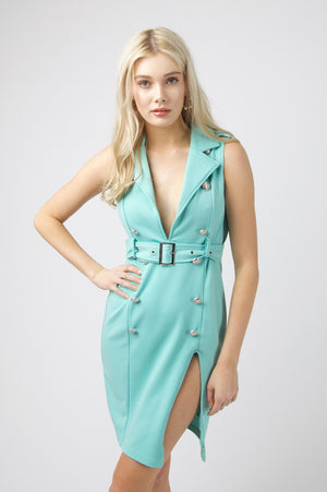 New York City Dress - AQUA