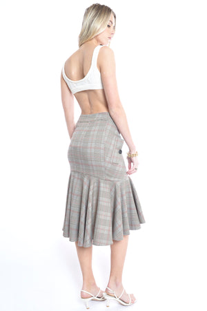 Stellar Skirt - BROWN