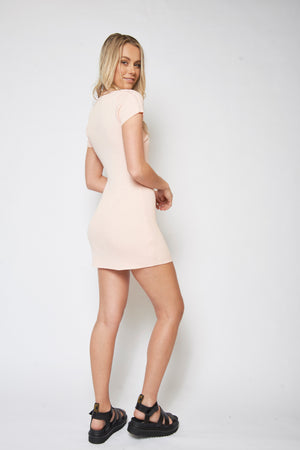 Chloe Dress - LIGHT PINK