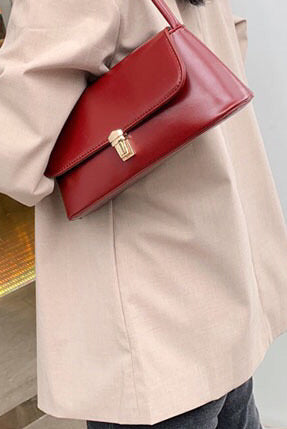 Tahlia Bag - WINE - Preorder