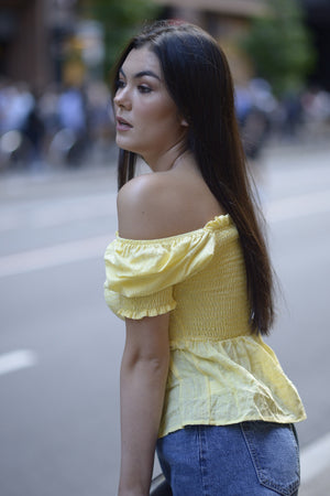 Saturday Blouse - YELLOW