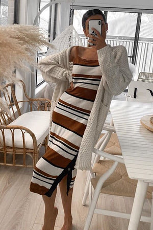 Herman Dress - COFFEE