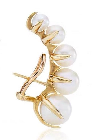 Twisted Earring - PEARL