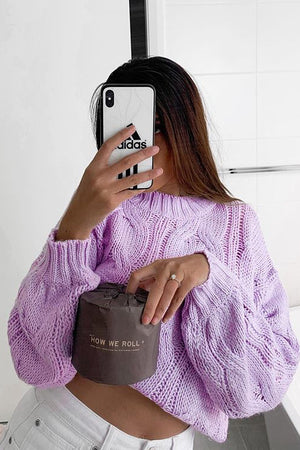 Folley Knit Jumper - LILAC